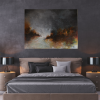 Ivona Radic Time After Time 122x92 Abstract Landscape Insitu Bedroom