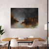 Ivona Radic Time After Time 122x92 Abstract Landscape Insitu Dining