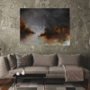 Ivona Radic Time After Time 122x92 Abstract Landscape Insitu Sitting Room