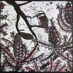 The Lookout (linocut variable edition) Ltd Ed Print 3 of 5