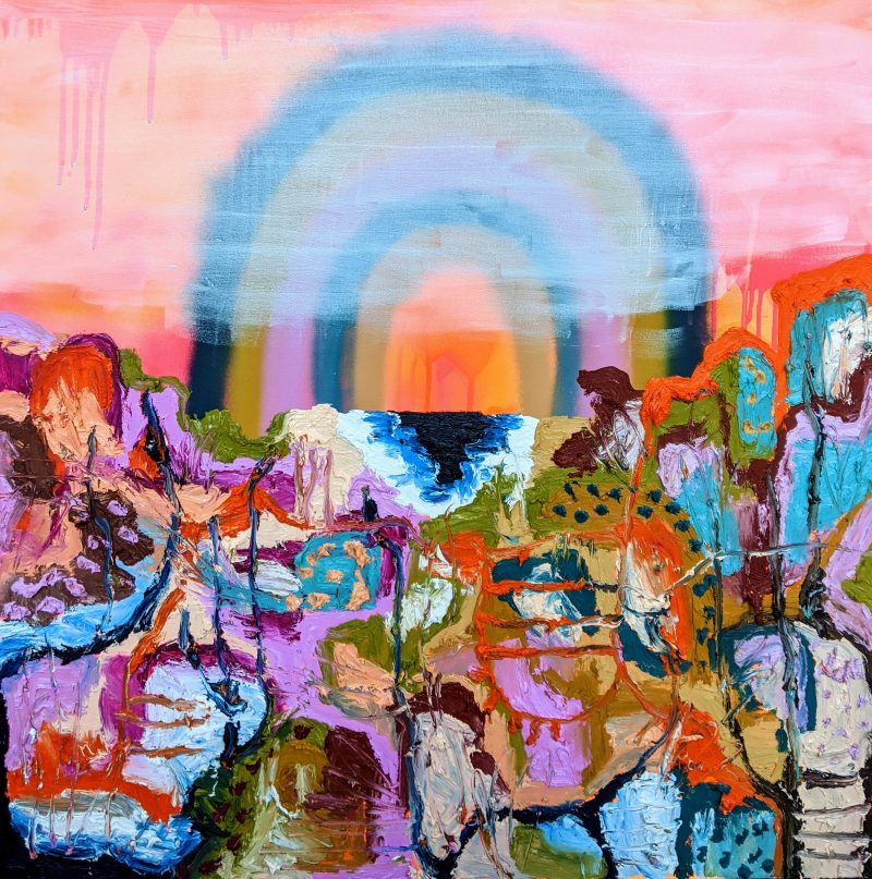Rainbow At The Rockpools 800x807
