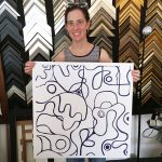 As One – Abstract Line-work family portrait Commission