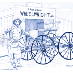 The Wheelwright – (Heritage trades series)