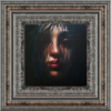 Wistful 15x15x1.5 Oil On Canvas Fr