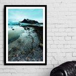 Fjallsarlon – Ltd Ed Framed Print