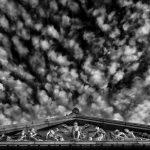 Shrine skies.
