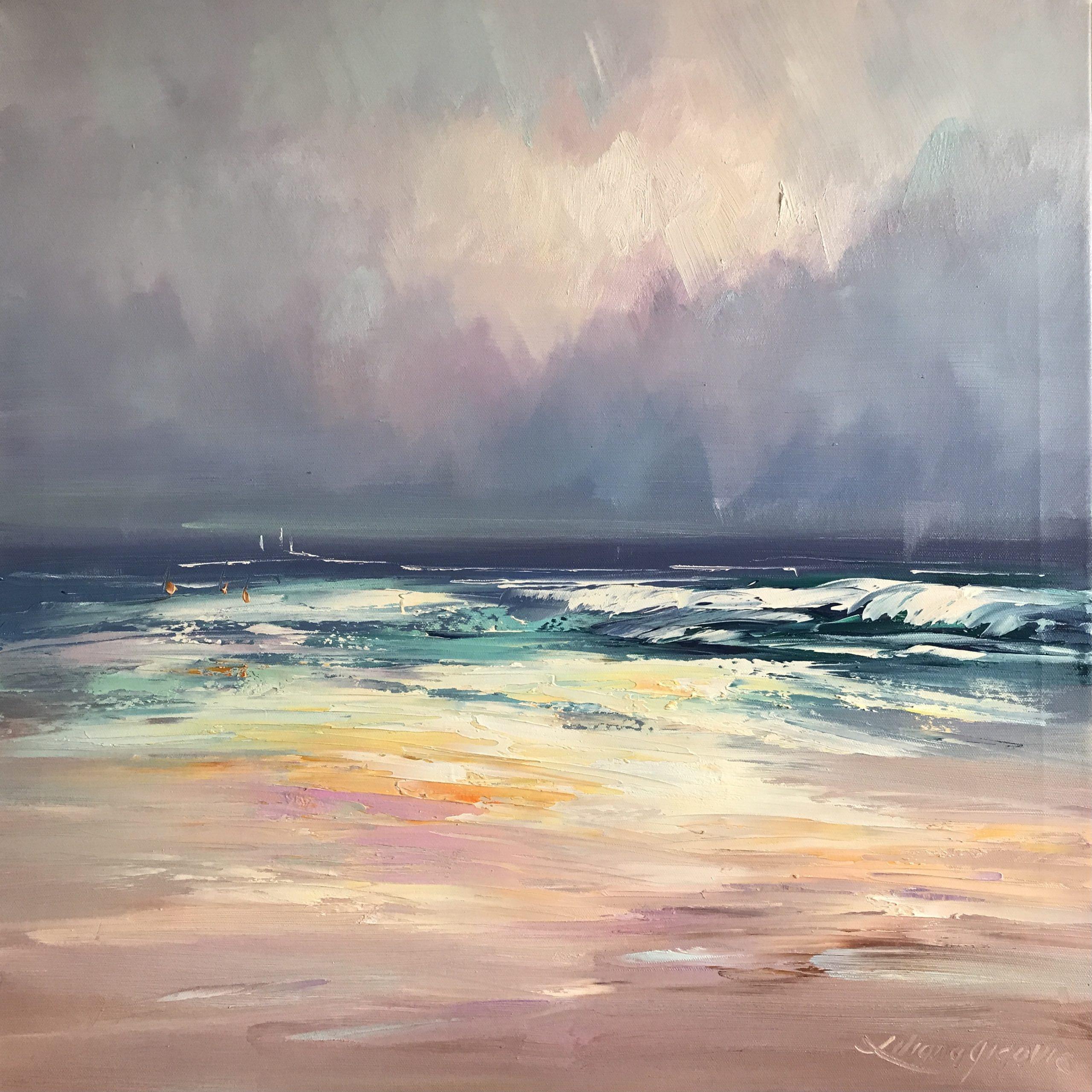 255 Colours Of The Ocean No 10, 61x61cm,jpg