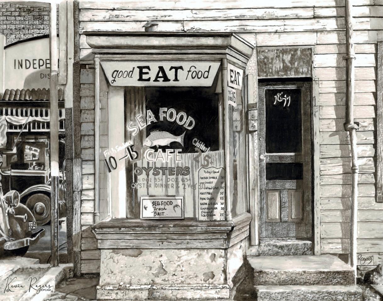 468 Washington Dc Cafe On L Street January 1938 (signature)