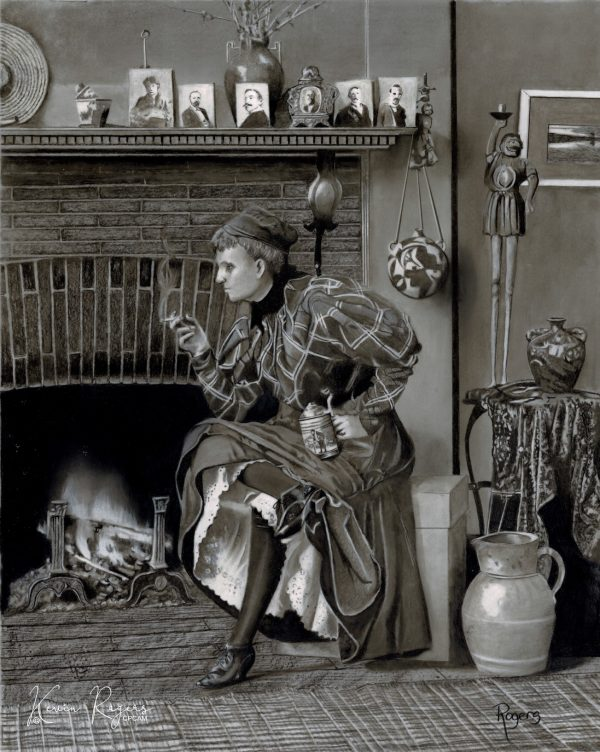 470 The Feminist Firebrand, Frances Johnston (1864 1952) (signature)