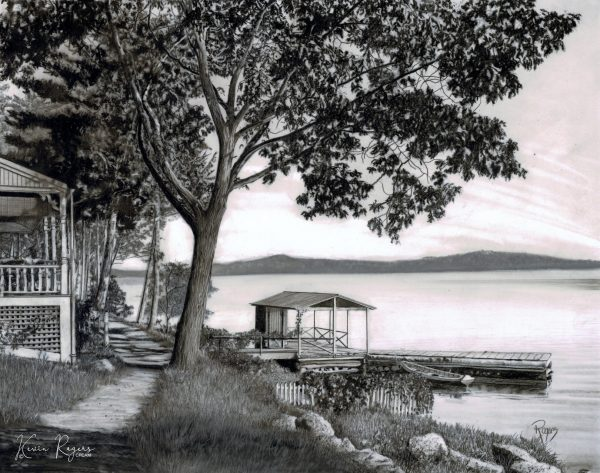 471 Cabin On The Lake (signature)