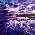 A Lake Albert Sunset