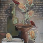 Banksia and Crimson Finches