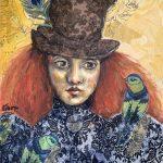 Circus Girl Scarlett  Ltd Ed Print