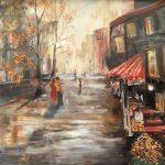 Street Cafe Montmartre