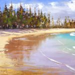 Manly Beach Pines and Sand