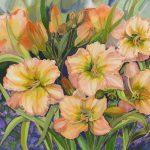 Apricot Day Lilies Ltd Ed Print 2/100