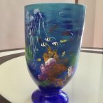 Under the Sea (Glass Vase )