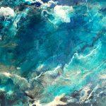Deep Ocean – Resin and Inks