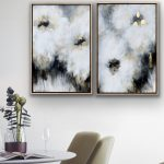 Crushed Toffee Parfaits, Framed Pair