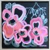Love Bites Jen Shewring 2021 30x30cm, Framed 33x33cm Acrylic On Canvas