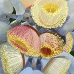 Yellow and Pink Blossom Ltd Ed Print 2/100