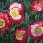Red poppies by Gillian Murray Ltd Ed Print 2/100