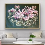 Twilight Protea – Abstract Flowers – Large 155x108cm