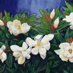 White Magnolias Ltd Ed Print 1/100