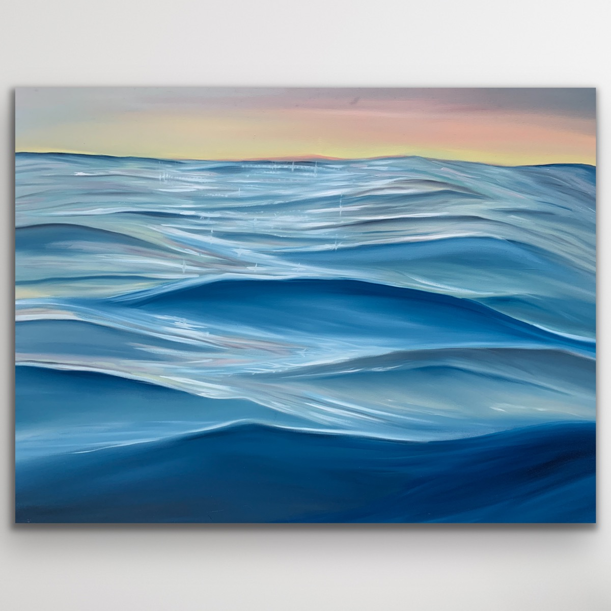 Amongst The Majic Ocean Abstract Painting Alanah Jarvis