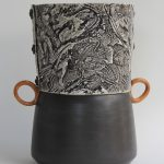 Contrast Texture Vase
