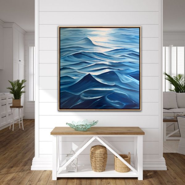 Coastal Painting Alanah Jarvis Ocean Art Nautical That Sense Of Freedom