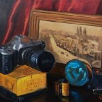 Vintage memories, old photographic equipment – still life