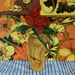 Retro Flowers, Gum blossom and the Poker Work Vase