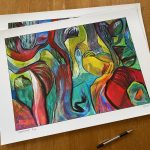 Water Story Ltd Ed Print