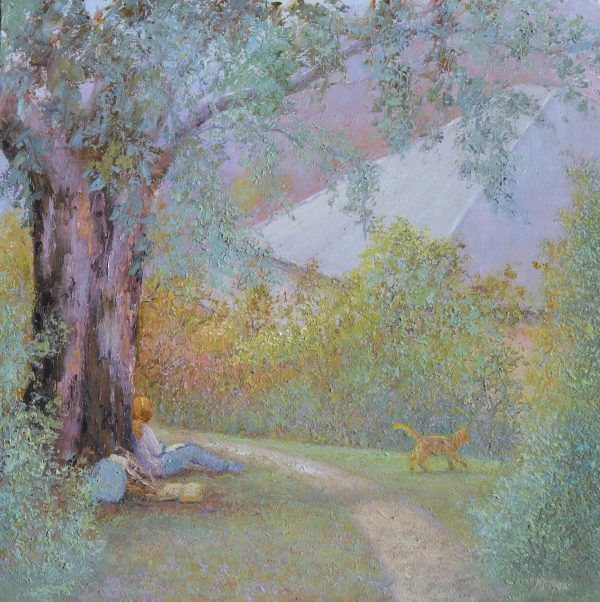 Autumn Days, Landscape Painting By Jan Matson 2021