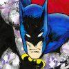 Batman Face Crop