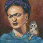 Frida. Me and My Monkey Ltd Ed Print