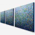 Toorak Garden – Triptych