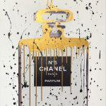 Chanel No 5 White Gold
