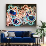 Love For Life – Abstract Flowers – large 155x108cm