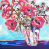 Lilies Jen Shewring 2020 122x76cm Acrylic On Canvas
