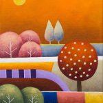 Orange Patchwork – Petite