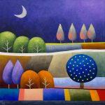 Purple Patchwork – Square