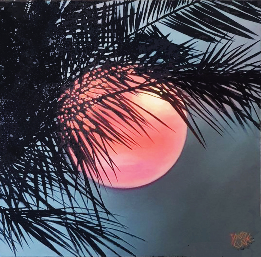 Red Sun No Frame