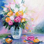 Roses in a vase No 2