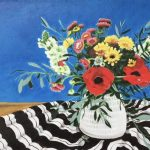 Still life with Anemones