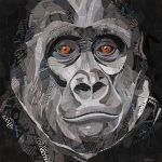 Gorilla Eyes – Ltd Ed Print