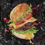 Hamburger with the Lot – Ltd Ed Print