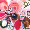 True Love Jen Shewring 2021 145x108cm Acrylic On Sb Canvas