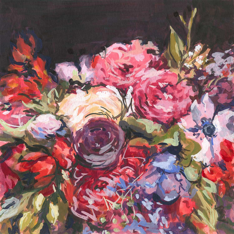 Vickie Liu Winter Wedding Bouquet A3